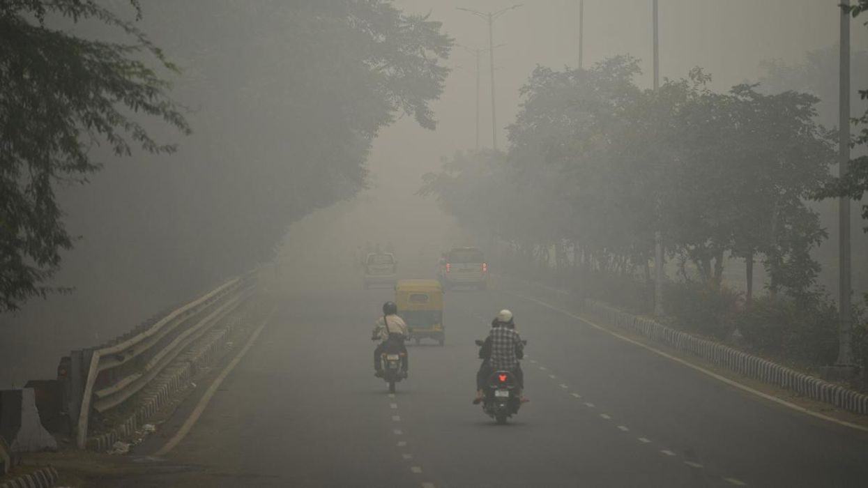 Plastic Burning Makes It Harder for New Delhi Residents to See, Study Suggests