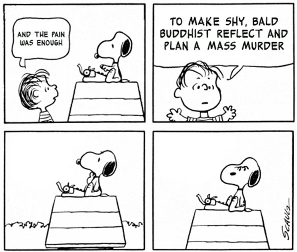 This Tumblr Combines Peanuts with Smiths Lyrics, Is Awesome