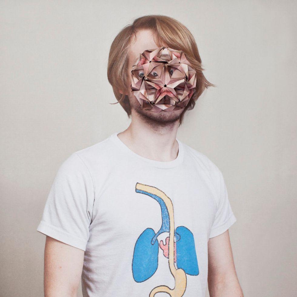 Photographer Alma Haser Creates Stunning (and Eerie) Origami-Enhanced Portraits