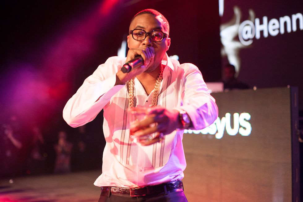 Nas and DJ Jazzy Jeff (!) Played at the Hennessy Os Gemeos Launch at Pier 57