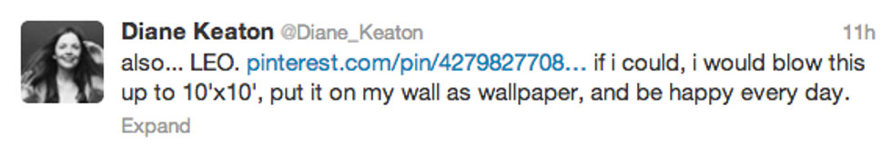 If You're Not Following Diane Keaton on Twitter, You're Really Missing Out