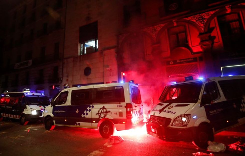 Ten arrested in Barcelona as protests over jailed rapper turn violent Raw Story - World RSS Feed RAW STORY - WORLD RSS FEED : PHOTO / CONTENTS  FROM  RAWSTORY.COM #NEWS #EDUCRATSWEB