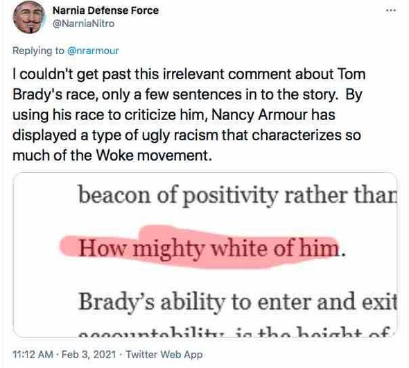 'How mighty white of him': Tom Brady exudes 'height of white privilege' for not discussing past Trump support, sportswriter says