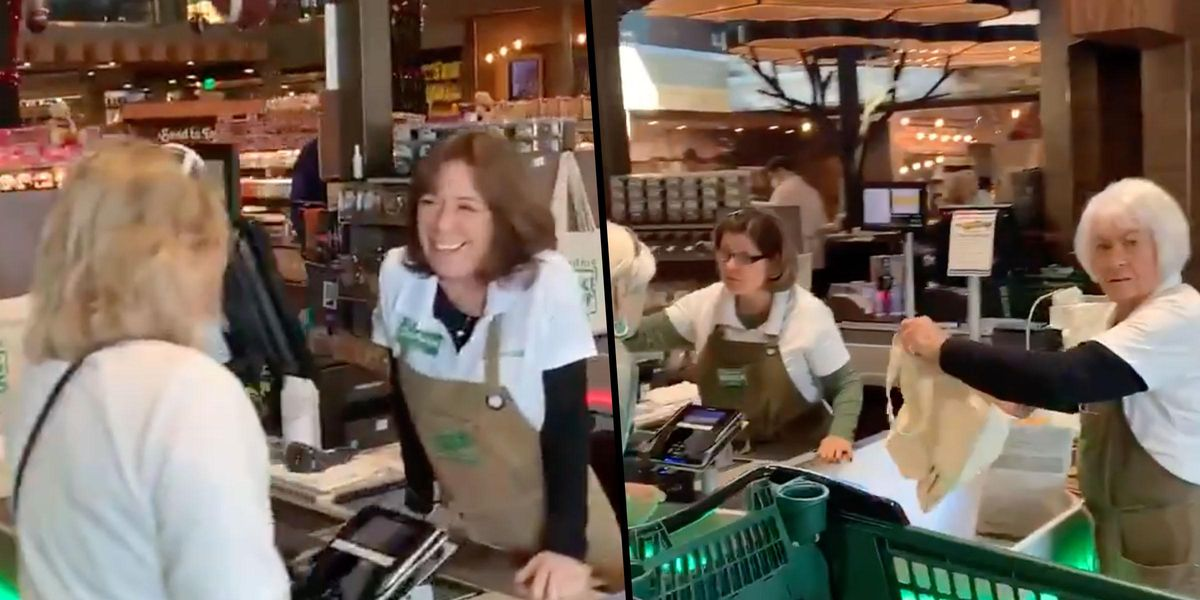 Florida Grocery Store Shoppers and Workers Flout Mask Mandate in Shocking Video
