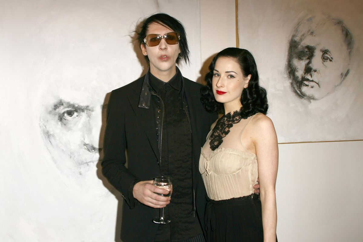 Dita Von Teese Stands With Marilyn Manson's Alleged Victims