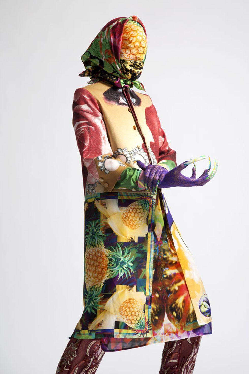 Designer Manon Kündig Shows Us What a Swiss-YouTube-S&M Fashion Mash-Up Looks Like
