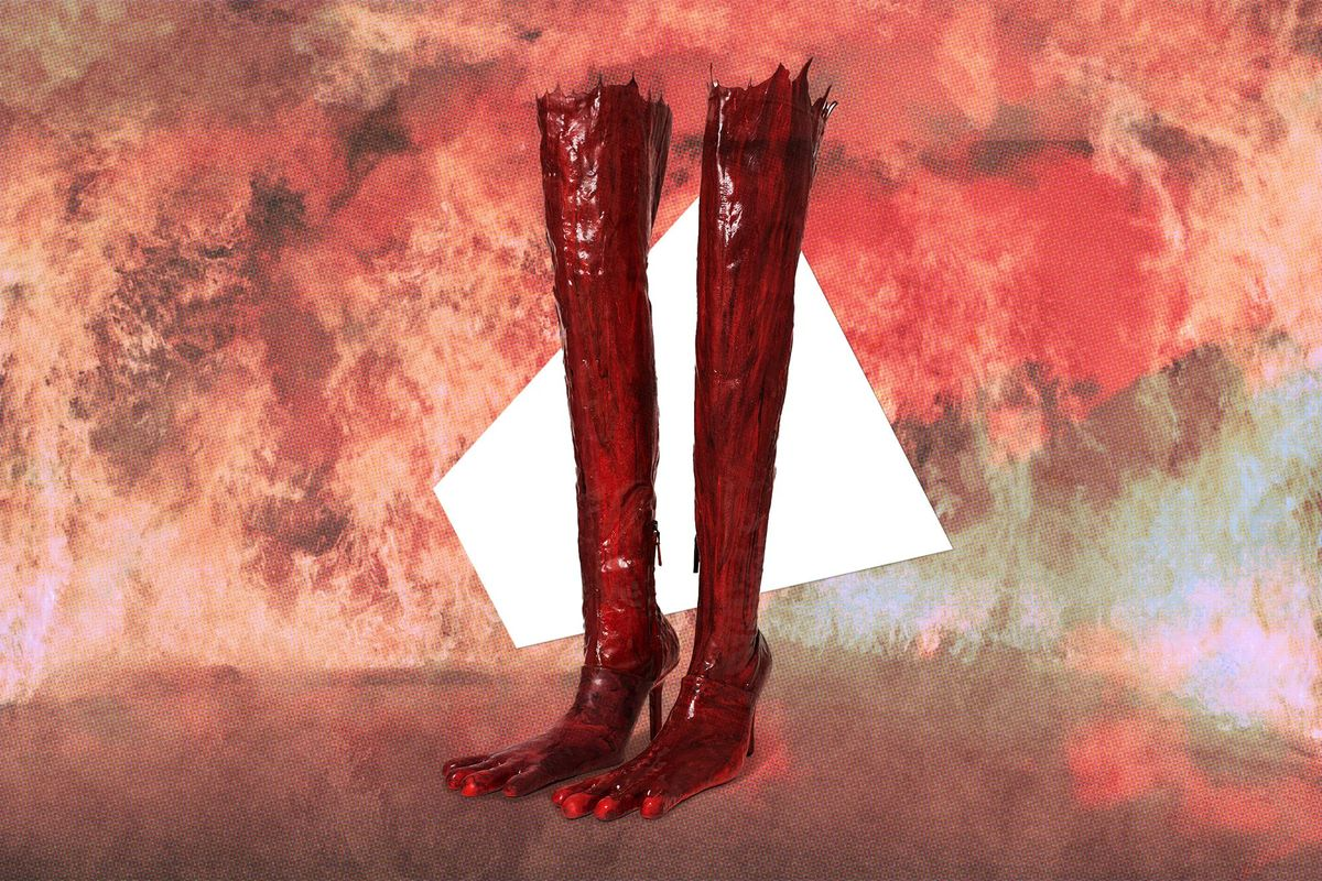 Bloody Shoes Have a Whole New Meaning