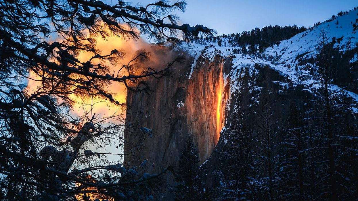 "Yosemite's ""Firefall"" Is Back – But This Year You'll Need Reservations​"