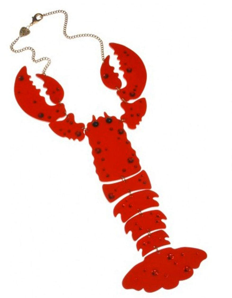 Eight Items or Less: Wear, Don't Eat, Crustaceans