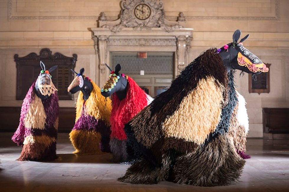 Nick Cave's Soundsuits to Graze Grand Central