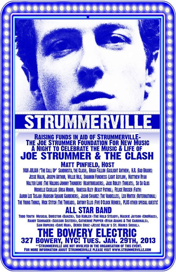 51573e440154 Celebrate the Life and Music of Joe Strummer   The Clash - PAPER