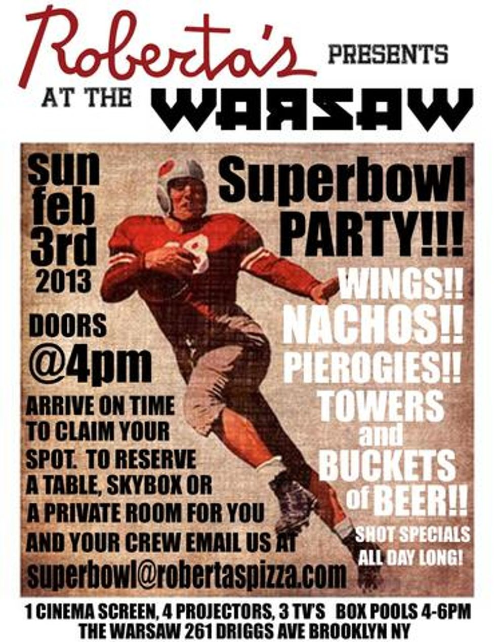 Riot Grrrl Cover Bands, Superbowl Parties and Airplane! this Weekend in NYC