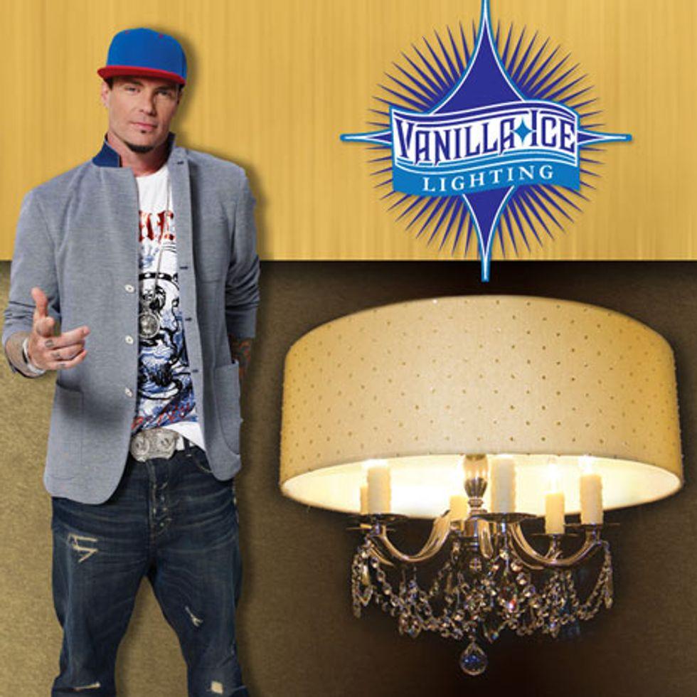 Lights Lights Baby: Vanilla Ice's New Lighting Line
