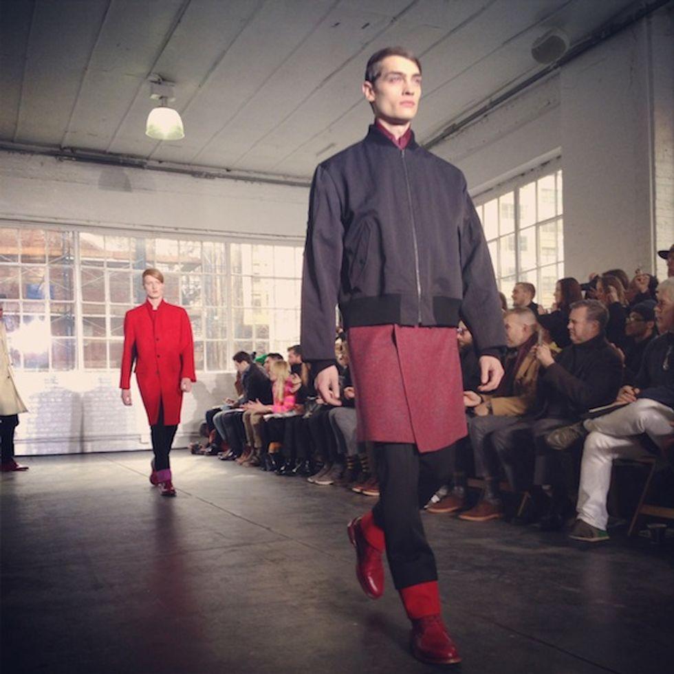Luigi Tadini's Fashion Week Insta-Moment: Duckie Brown