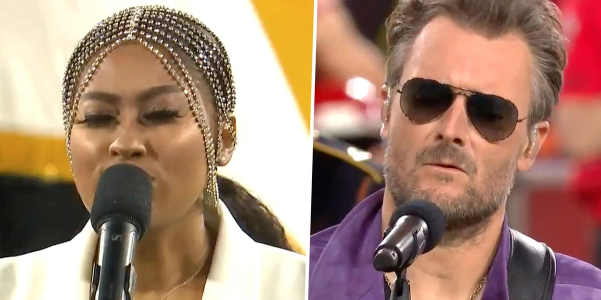 Jazmine Sullivan and Eric Church Praised for 'Flawless' Rendition of National Anthem