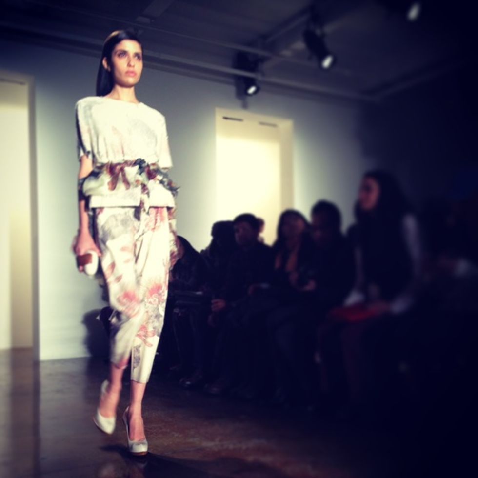 Luigi Tadini's Fashion Week Insta-Moment: Alexandre Herchcovitch