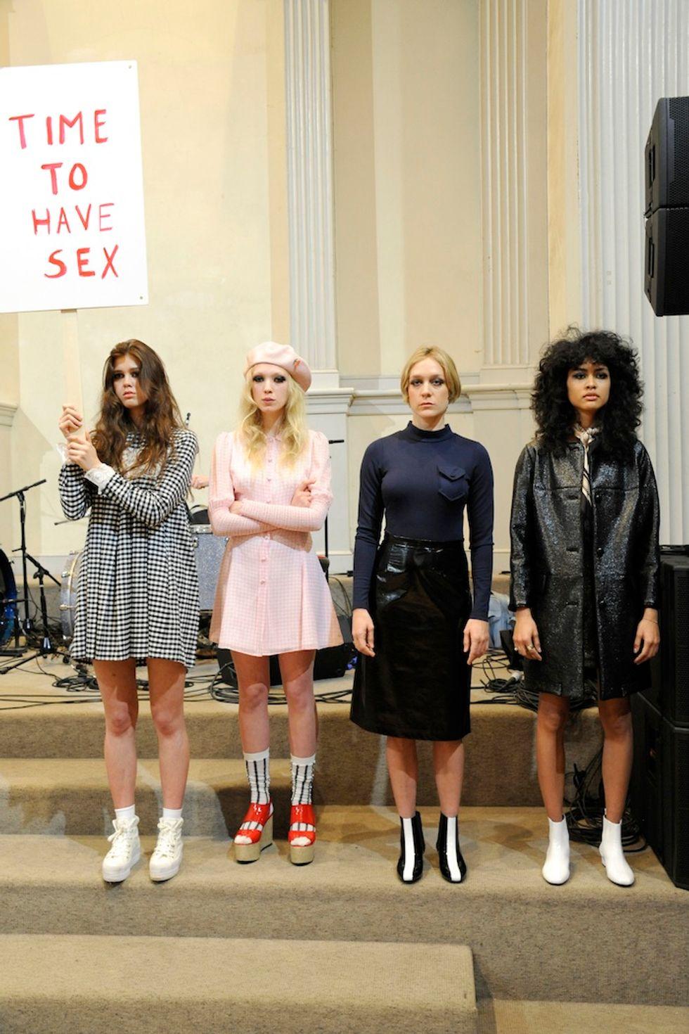 Teenage Riot: Chloe Sevigny X Opening Ceremony
