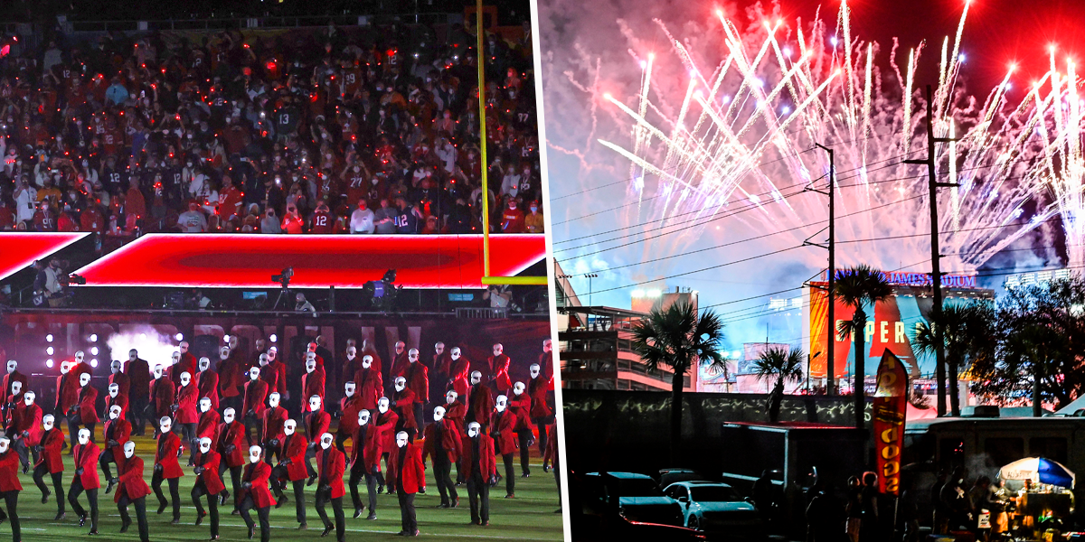 Viewers All Furious at The Same Thing as 25,000 People Flock to Fill Super Bowl Stadium