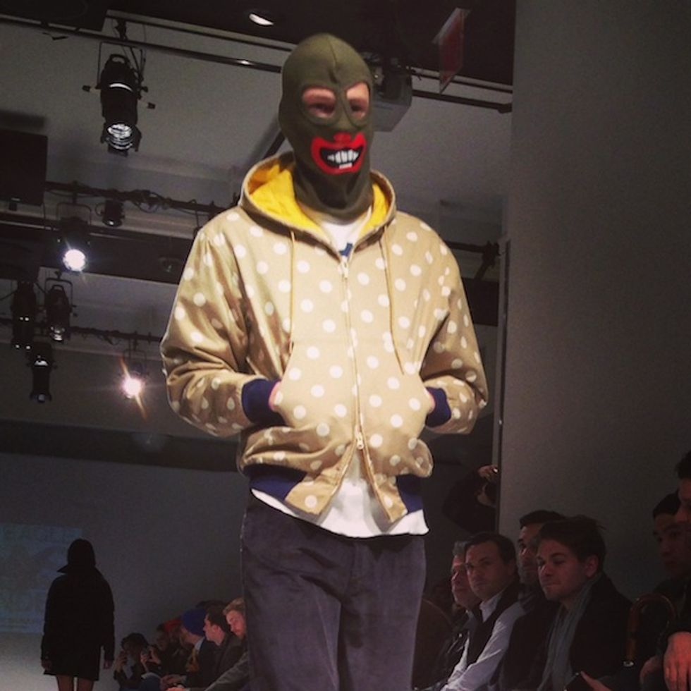 Luigi Tadini's Fashion Week Insta-Moment: Mark McNairy
