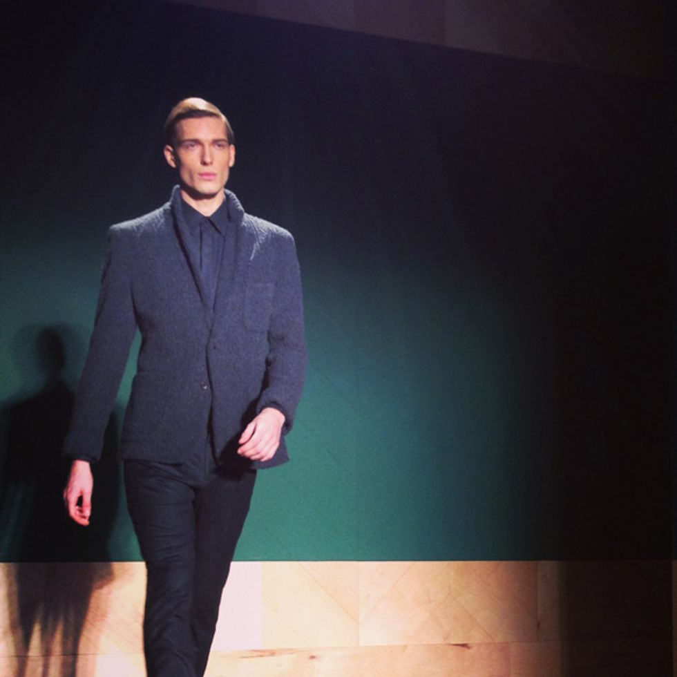 Luigi Tadini's Fashion Week Insta-Moment: Perry Ellis By Duckie Brown