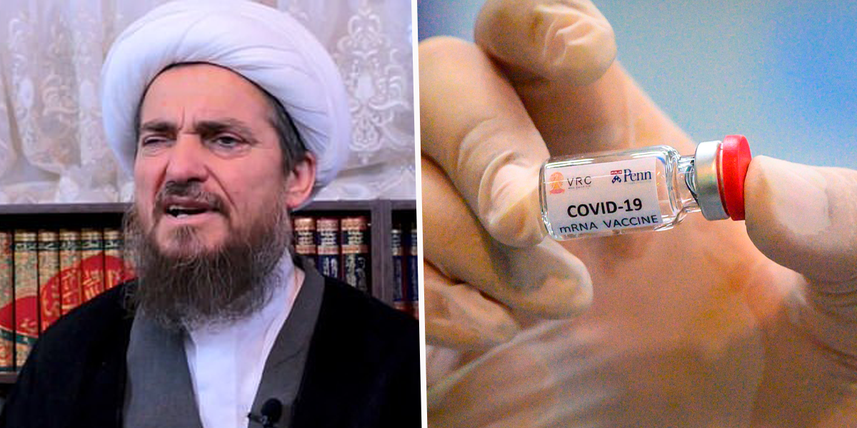 Iranian Cleric Claims COVID Vaccine 'Turns People Gay'