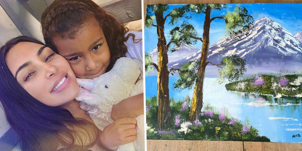 No One Believes Kim Kardashian After She Claims North West Painted This
