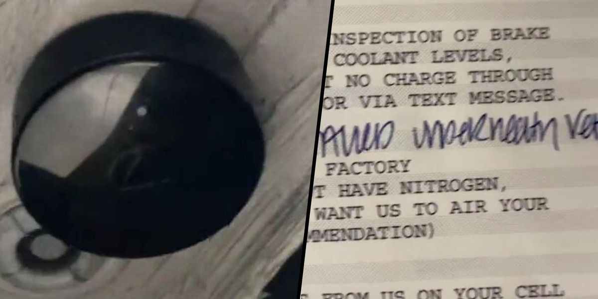 Mechanic Makes Chilling Discovery After Woman Brings in Her Car for a Check-up