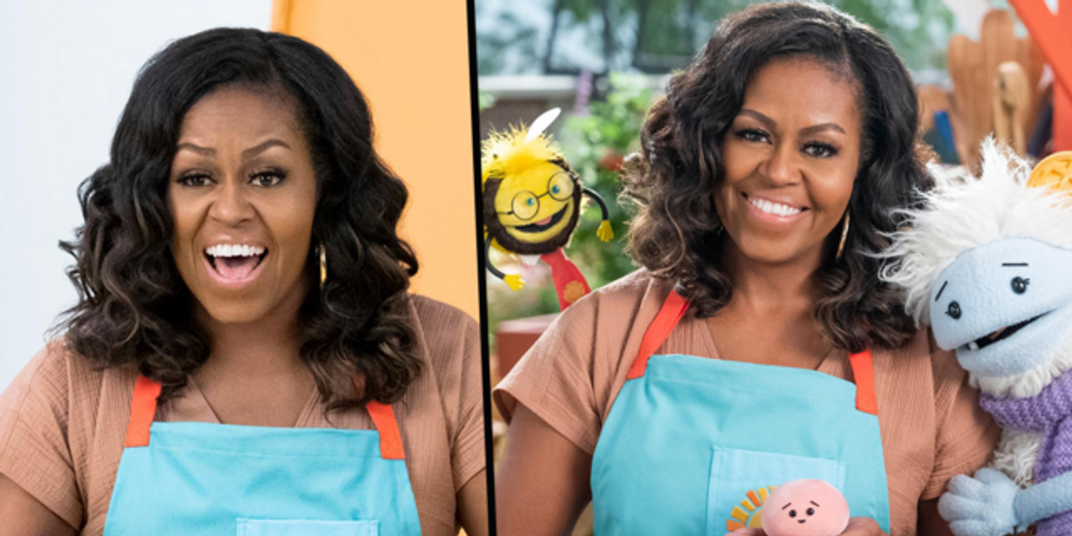 Michelle Obama's Culinary Kids Show 'Waffles + Mochi' Will Launch Next Month on Netflix