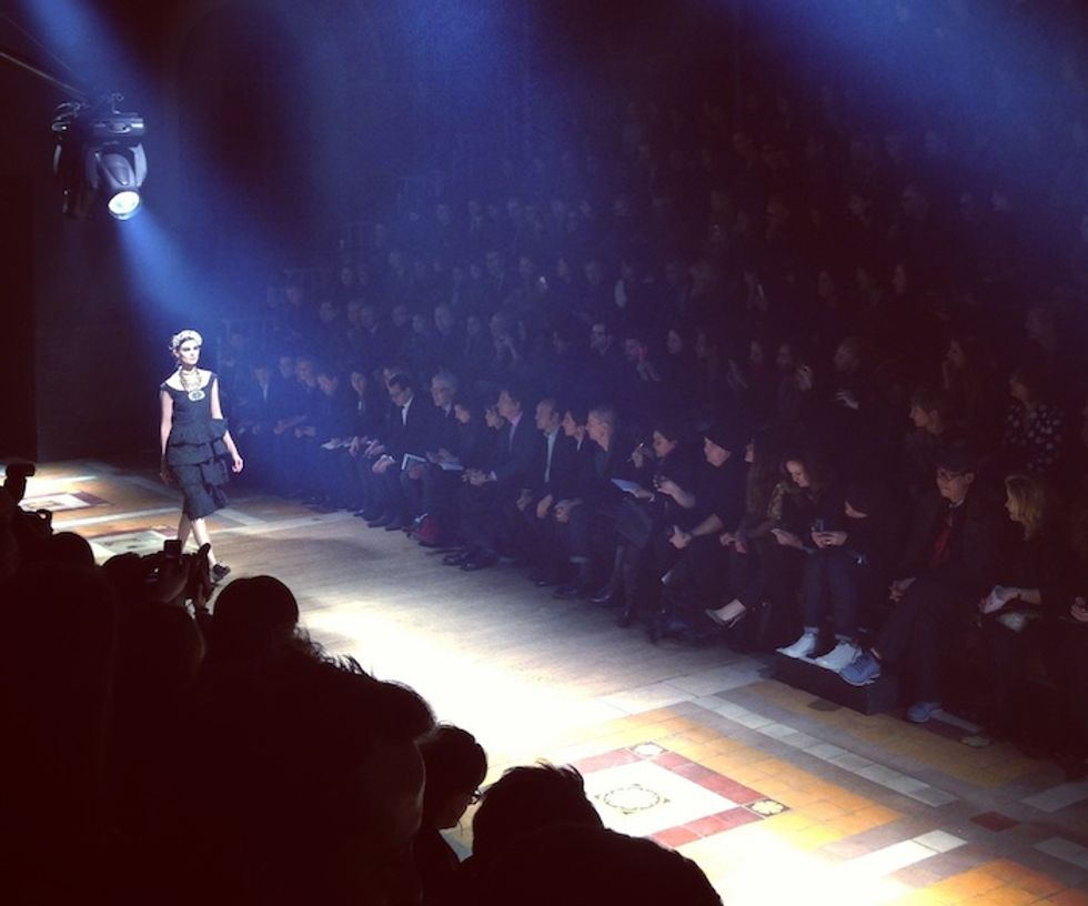 Luigi Tadini's Fashion Week Insta-Moments: Lanvin