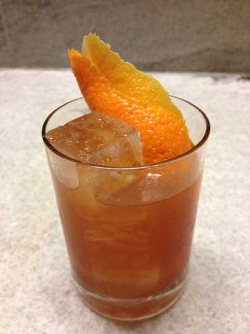 The Sonoran Old-Fashioned at Salvation Taco
