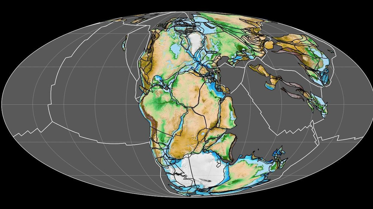 New animation shows a billion years of continental drift