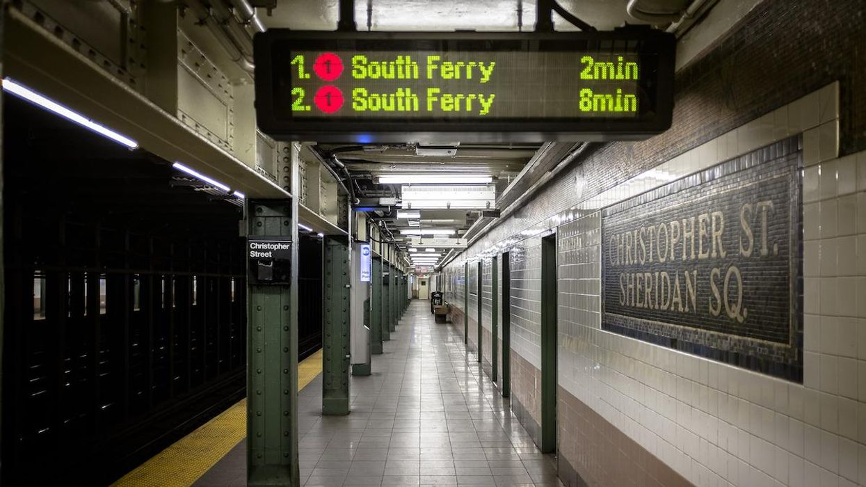 U.S. Subway Platforms Have Highly Polluted Air