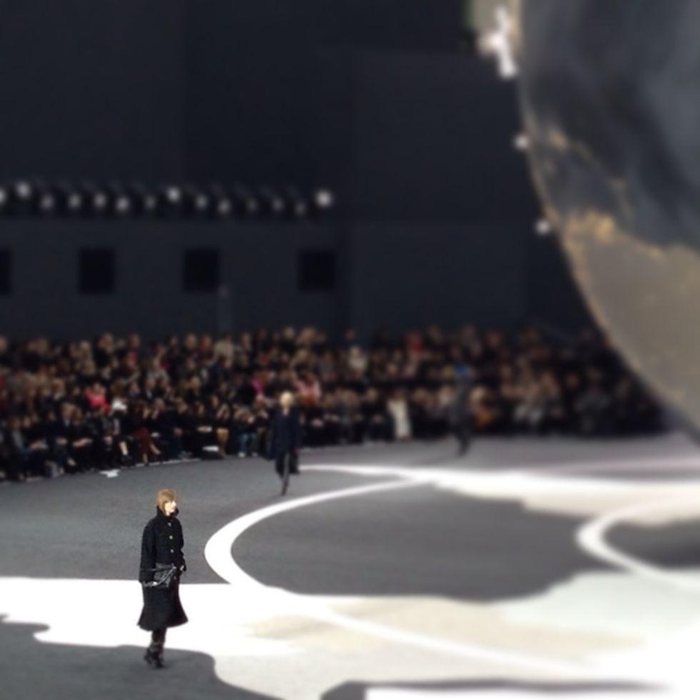 Luigi Tadini's Fashion Week Insta-Moments: Chanel