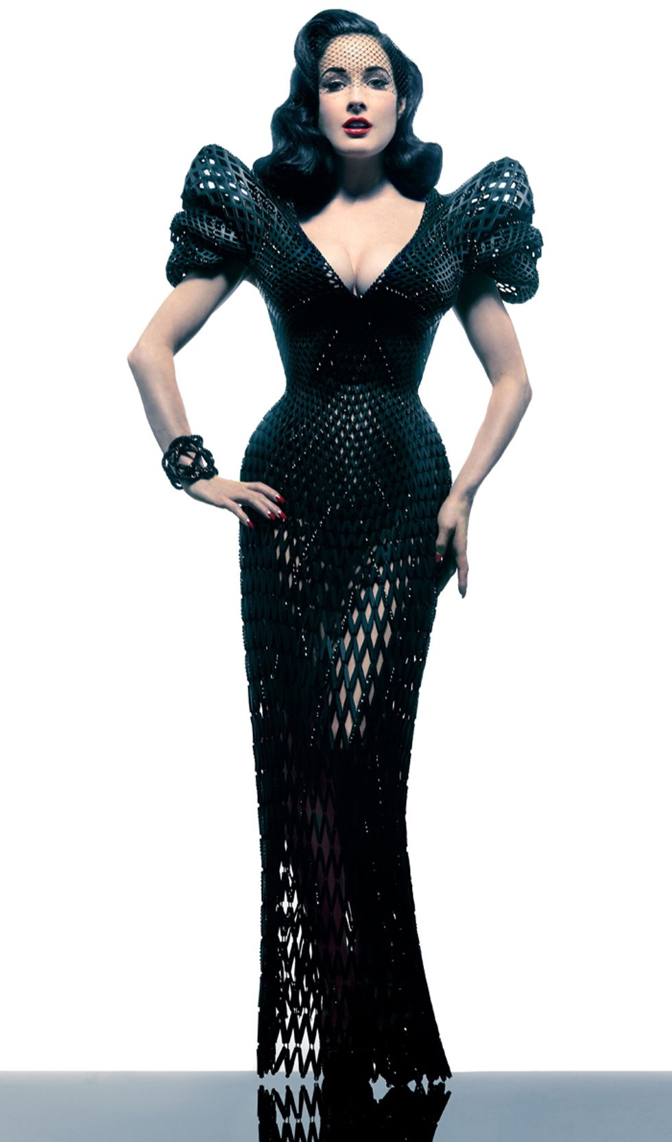Behold: The First Totally 3D-Printed Dress