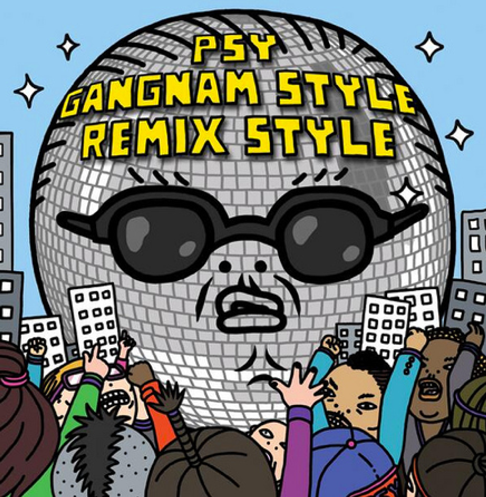 "Diplo, 2 Chainz and Tyga Remixed ""Gangnam Style"""