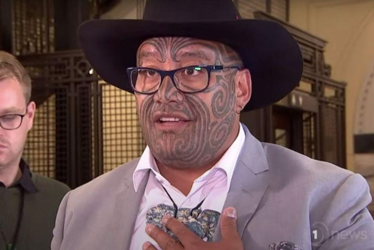 Maori lawmaker kicked out of parliament for wearing a cultural pendant instead of a tie