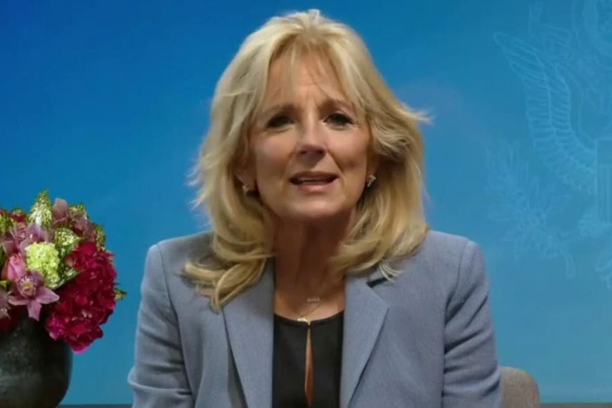 Jill Biden says president will 'make sure that everyone has access to free community college'