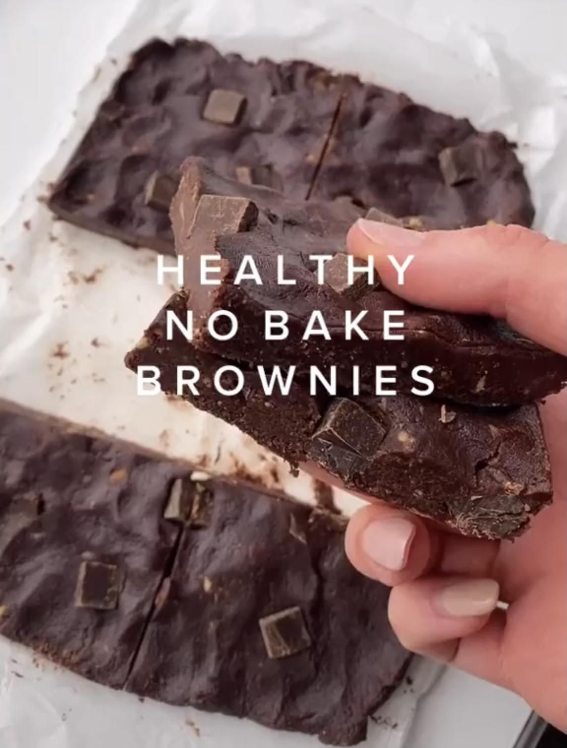 This TikTok No-Bake Brownie Recipe Is A Healthy Must-Try