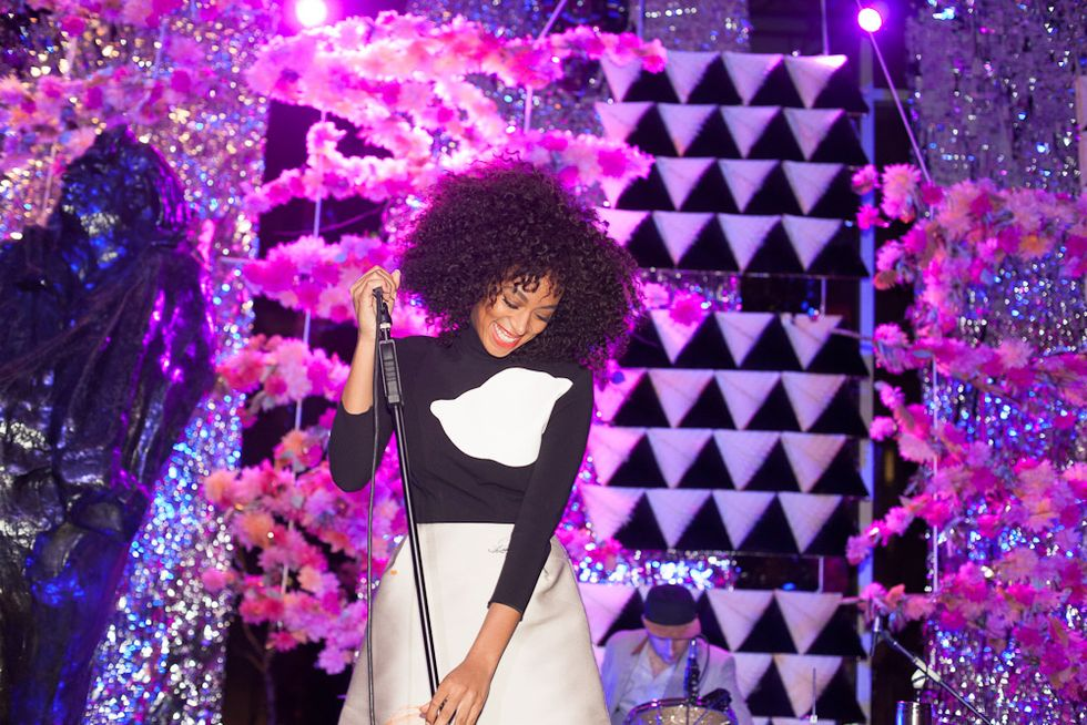 Scenes from the Armory Party