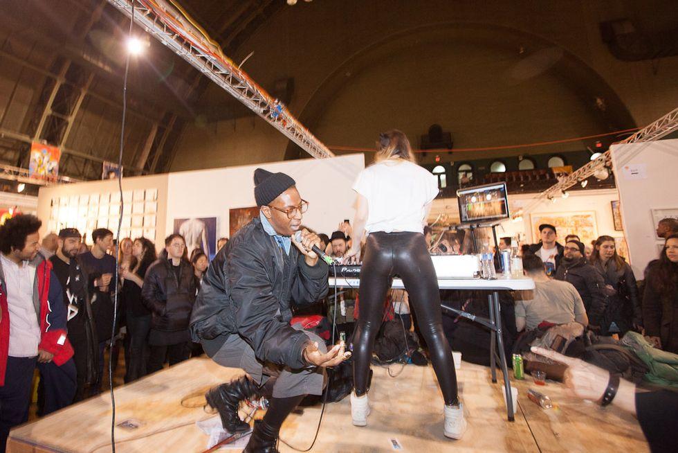 Scenes from the 2013 Fountain Art Fair