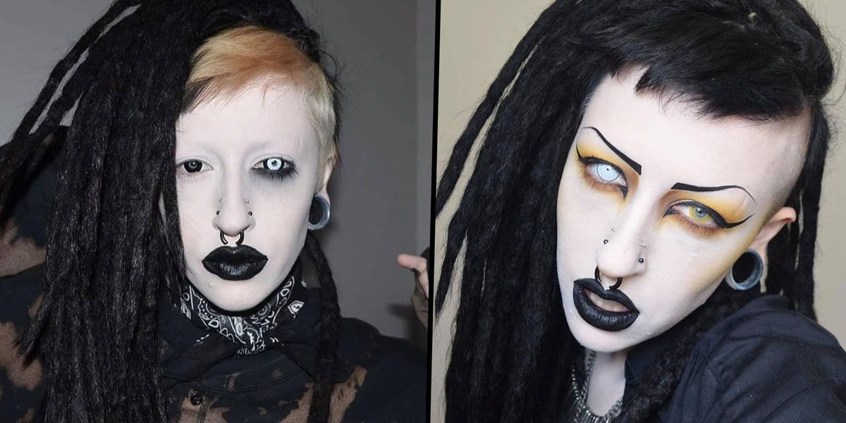Vampire Goth' Gets a Makeover To 'Look Like an Instagram Model'