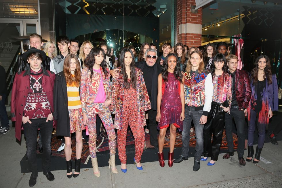 Photos from Just Cavalli's Soho Store Launch and Fashion Show