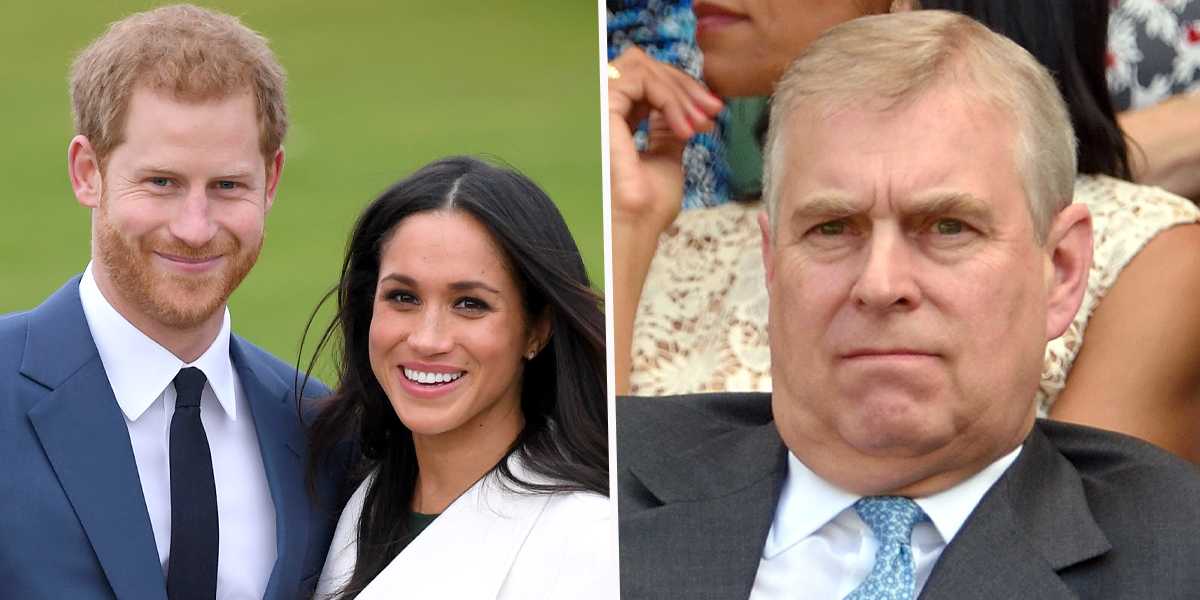 Royal Family Accused of 'Double Standards' For Probing Meghan and Harry But Not Prince Andrew