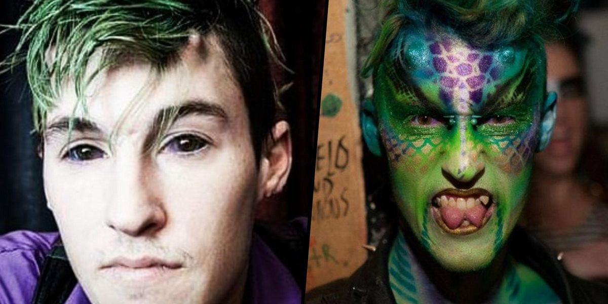 Man Spends $15,000 on Procedures To Make Himself Look Like a Dragon