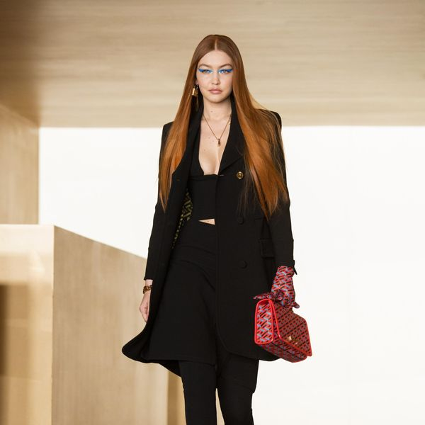 Gigi Hadid Walked in Her First Fashion Show Since Giving Birth