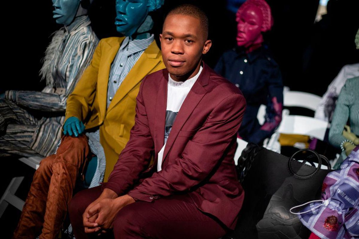 <div>Thebe Magugu's AW21 Collection 'Alchemy' Is An Exploration of African Spirituality</div>