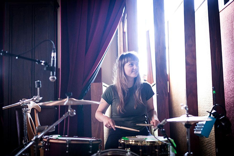 Singer Angel Olsen Goes Electric