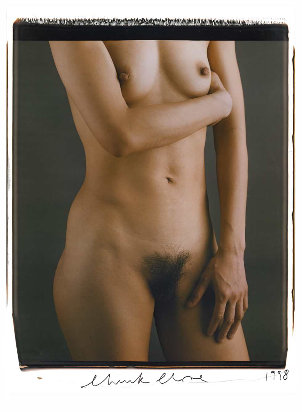 Preview Chuck Close's Nudes Before They Arrive to New York (NSFW)