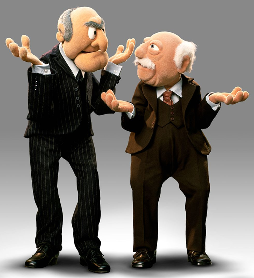 The Muppets' Statler and Waldorf Review This Year's Oscar Nominees