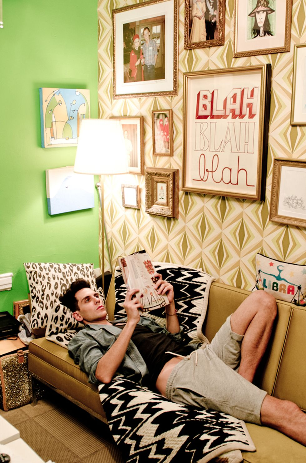 Spring Cleaning Chic with Gabe Saporta